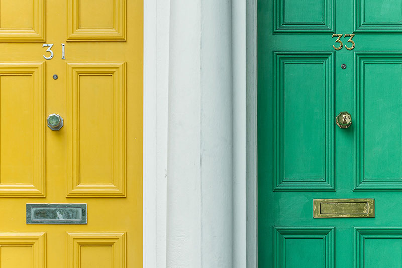 What is the best colour to paint your front door?